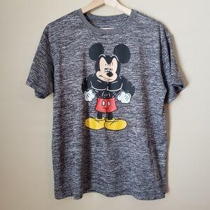 Disney Buff Muscle Mickey Athletic Tee Medium